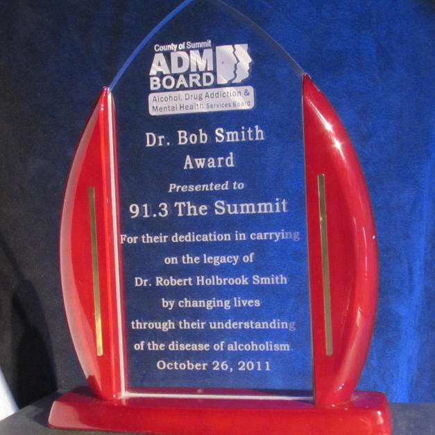 Summit County ADM Board Dr. Bob Smith Award