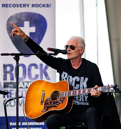 Michael Des Barres R&R Day at The Rock H