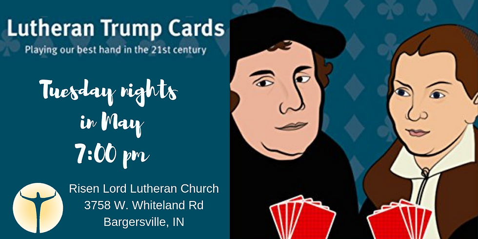 Lutheran Trump Cards - Ace, King, Queen