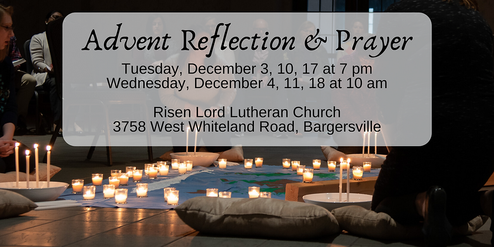 Advent Reflection and Prayer
