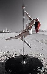 Zoe Malika, pole acrobatique