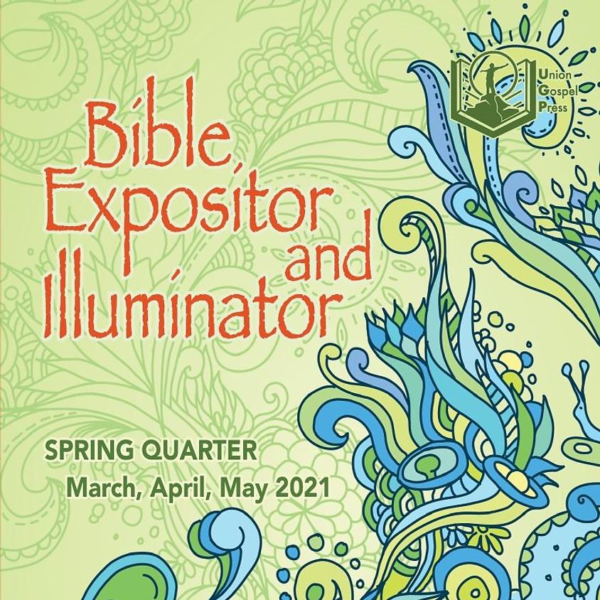 Sunday School Book Order Info
