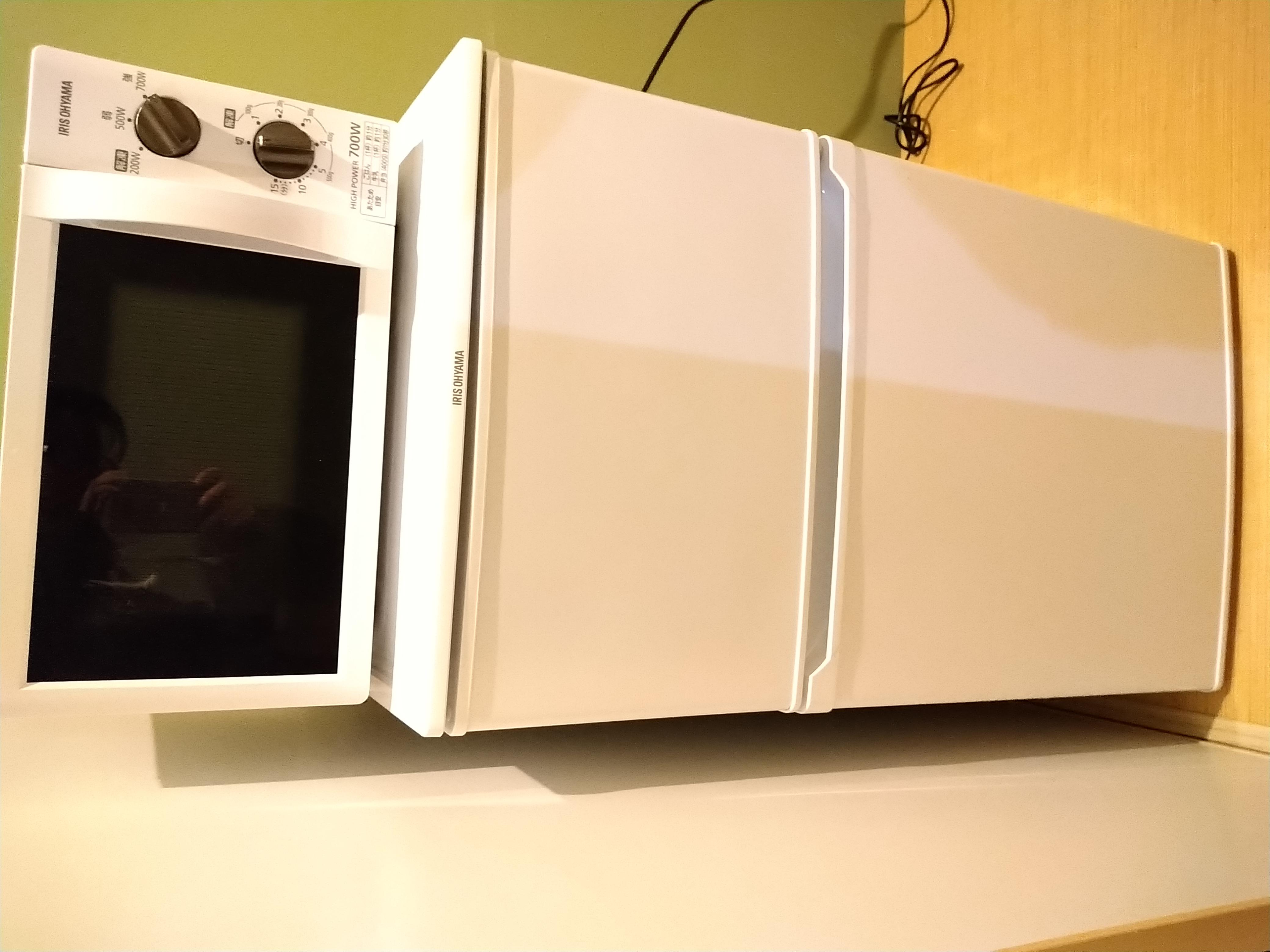 冰箱及微波爐
