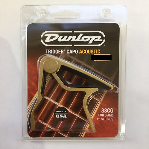Dunlop Trigger Capo Acoustic Gold 83CG