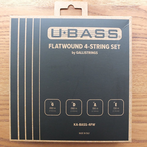 KALA U.BASS Flatwound 4-string set