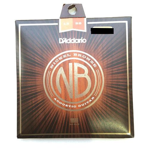 D'Addario Nickel Bronze 13-56