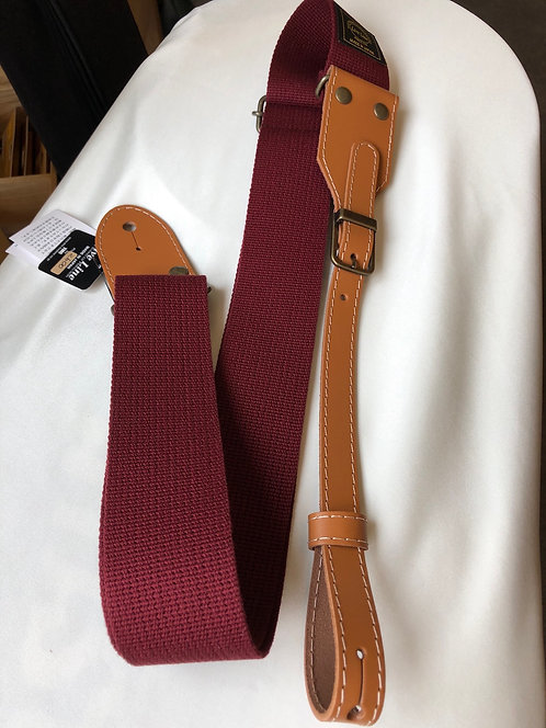 Live Line  Acoustic Style Straps WineRed