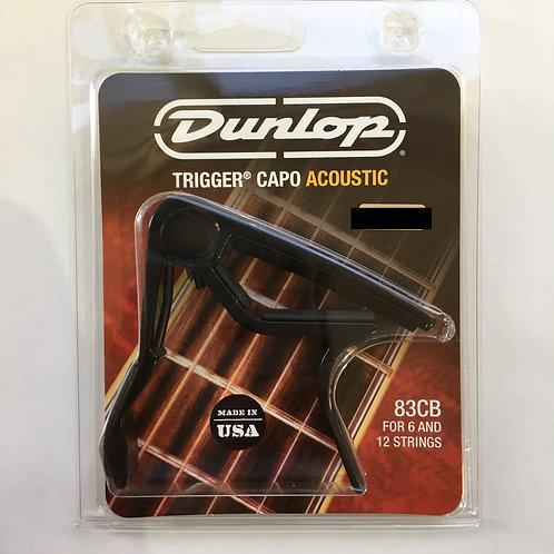 Dunlop Trigger Capo Acoustic Black 83CB