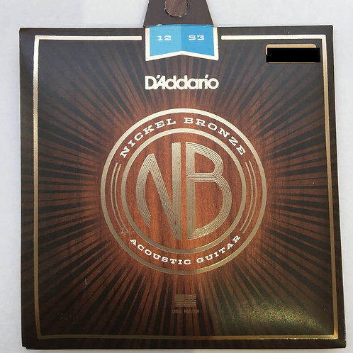 D'Addario Nickel Bronze 12-53