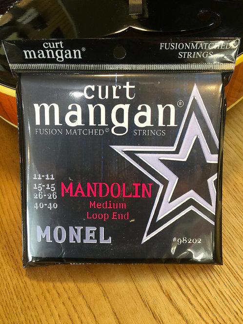 Curt Mangan Monel Medium Mandoli Strings