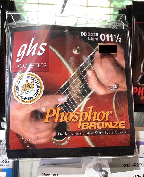 ghs phosphor bronze DD S325 Light