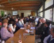 Restaurant Martin Meeting Set Up 2.8.18.