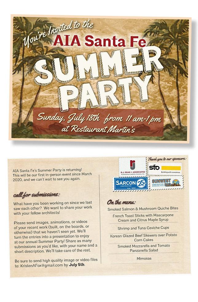 2021 Summer Party Invitation 06 25 2021