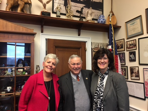 With Congressman Dana Rohrbacher