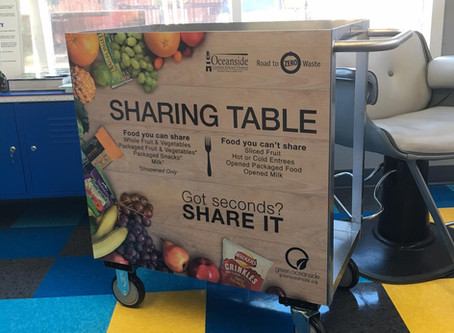 SHARE TABLES: Keeping Students Fed and Reducing Waste
