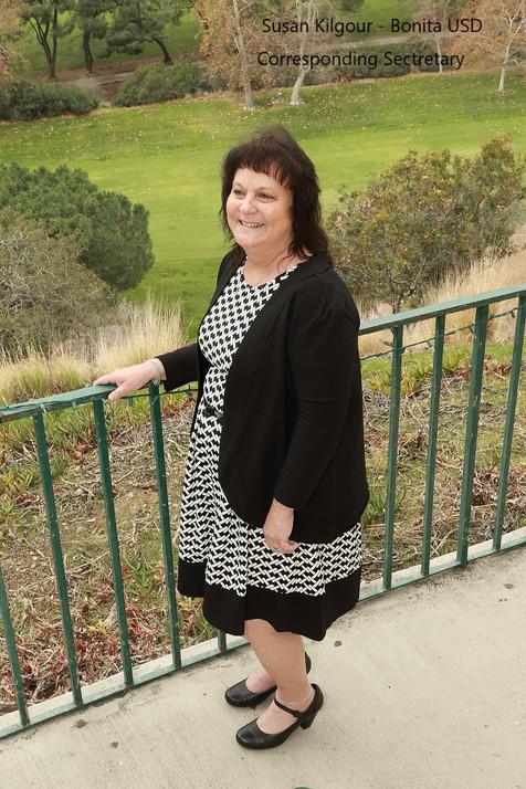 Susan Kilgour - Corresponding Secretary
