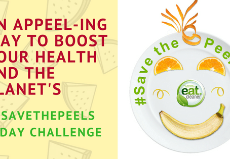 """Eat Cleaner launches an """"a-peel-ing"""" campaign to minimize food waste and boost nutrition"""