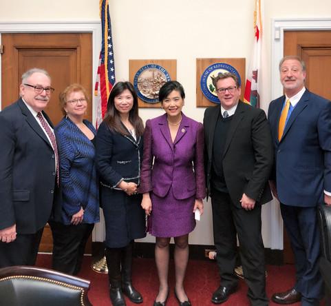 With Congresswoman Judy Chu