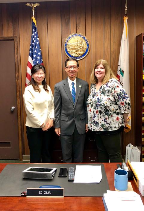 2018 LAC with Senator Ed Chau - Sacramento, CA