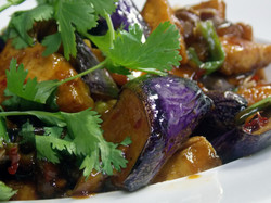 Japanese Eggplant Garlic