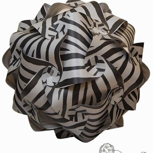 Grey Zebra Infinity Light