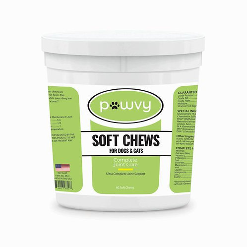 PAWVY COMPLETE JOINT CARE SOFT CHEWS