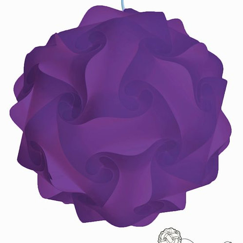 Purple Infinity Light