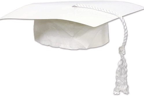 """Club Pack of 48 Black Graduation Cap with Tassel Party Accessory 9.25"""""""