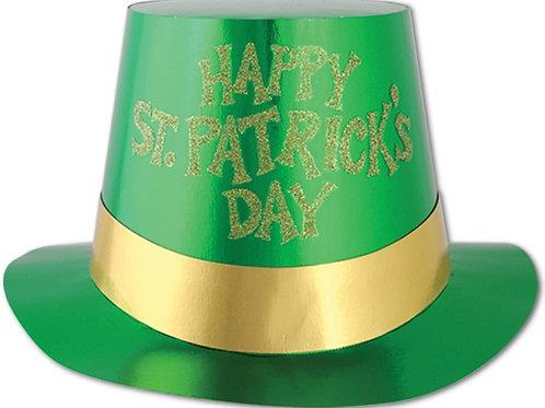 St. Patrick Paper  Top Hat