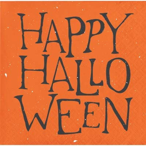Halloween Party Decorations, Happy Halloween Theme Printed Beverage Size Paper N