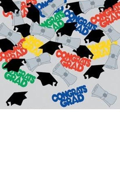 Party Central Club Pack of 12 Multi-Colored Congrats Grad Diploma Graduation Da