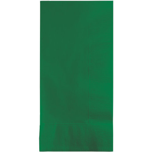 """Club Pack of 192, 3-Ply Disposable Folded Paper Guest Napkins 4"""""""