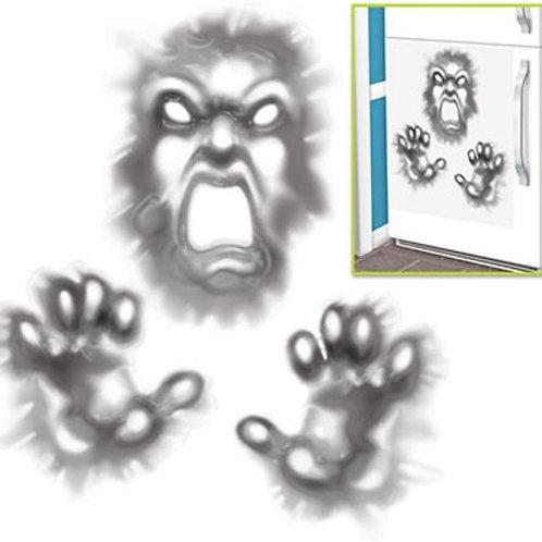 """Pack of 12 Demon Refrigerator Door Cover Halloween Hanging Decorations 30"""""""