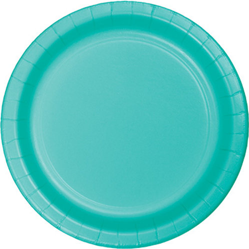 Creative Converting 7 Inch Round Paper Plate, 24 Per Package