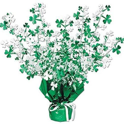 Pack of 12 Shamrock Gleam 'N Burst St. Patrick's Day Centerpiece Decorations 15