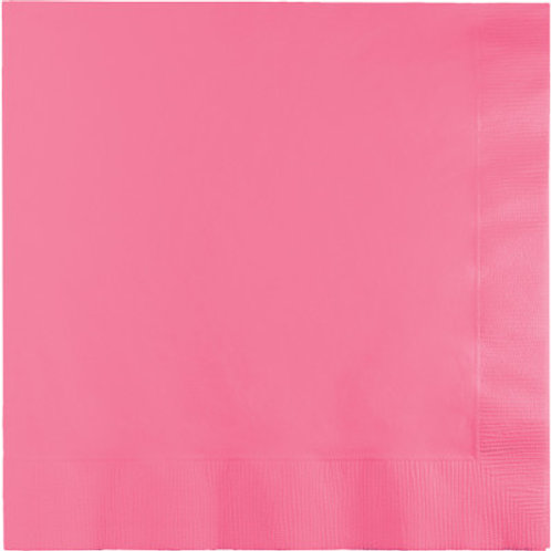 Creative Converting 600 Count Touch of Color Luncheon Paper Napkins,CandyPink