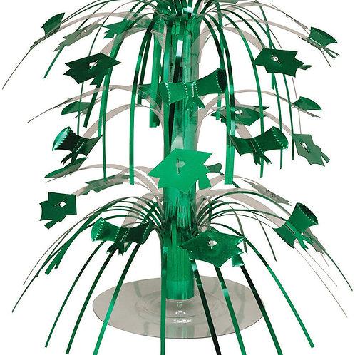 Pack of 12 Emerald Green Mini Cascade Centerpiece Graduation Party Decorations