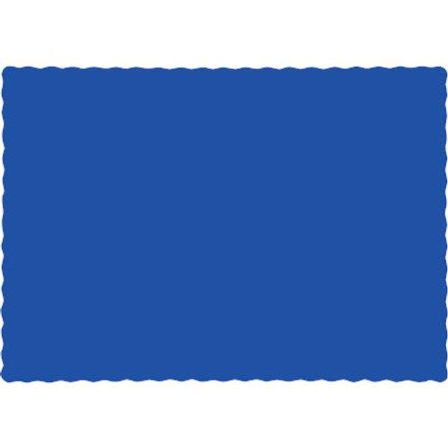 Color Paper Placemats, Royal Blue(100 Count)