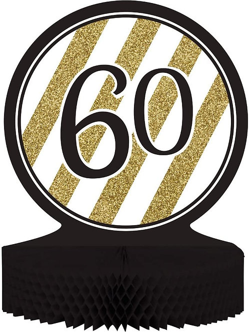 """Pack of 6 60"""" Birthday or Anniversary Honeycomb Party Centerpiece Decoration 13"""