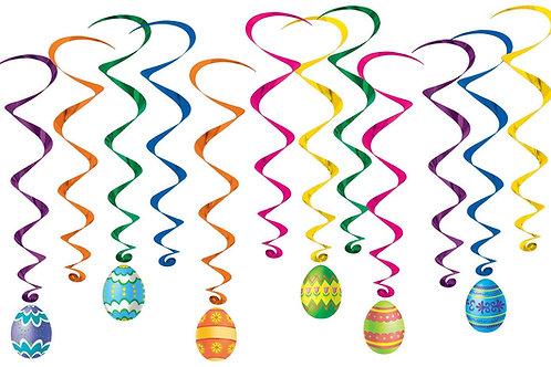 Easter Egg Whirls Pack of 72