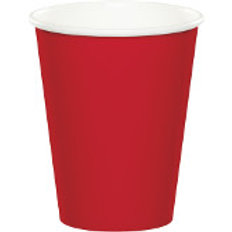 9 Ounce Paper Hot/Cold Cup Solid Color, Pack of 24