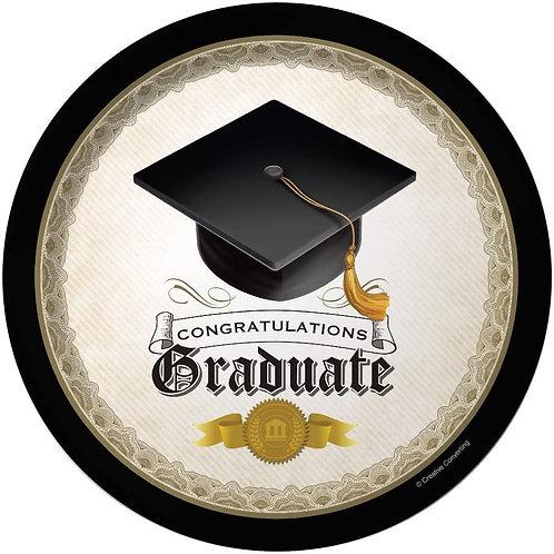 "Club Pack of 96""Congratulations Graduate"" Cap and Gown Disposable Paper Graduat"