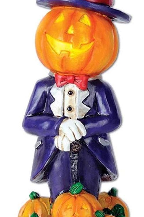 "Pack of 6 Halloween Mr. Pumpkin Best Costume Trophy Party Decorations 6"""