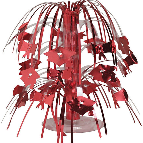 Pack of 12 Classic Red Mini Cascade Centerpiece Graduation Party Decorations 8.