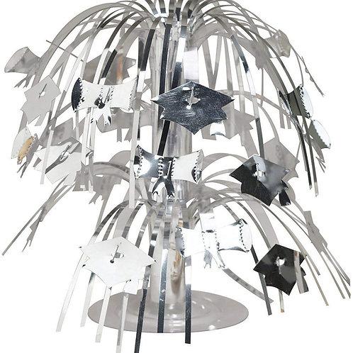 "Pack of 12 Silver Mini Cascade Centerpiece Graduation Party Decorations 8.5"""