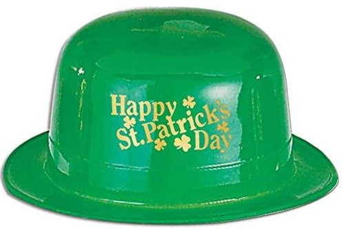 Pack of 48 Happy St. Patrick's Day Green Derby Hat Party Accessories