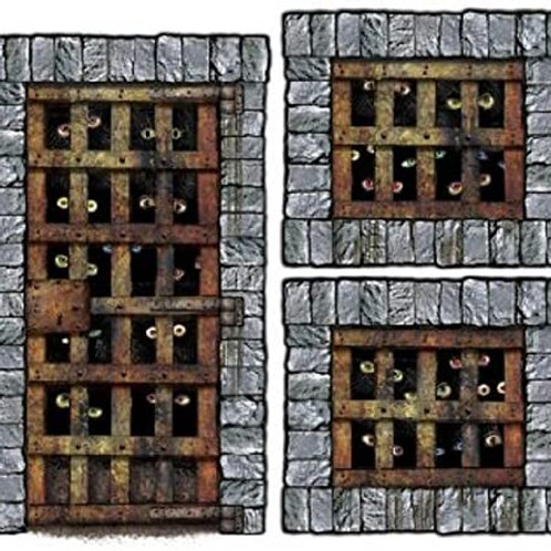 Club Pack of 36 Medieval Dungeon Dwellers Halloween Insta-Theme Decorative Props