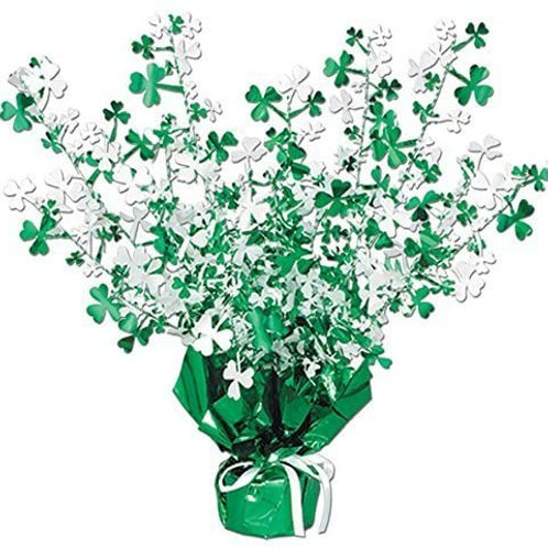 St. Patrick Gleam n burst Centerpiece