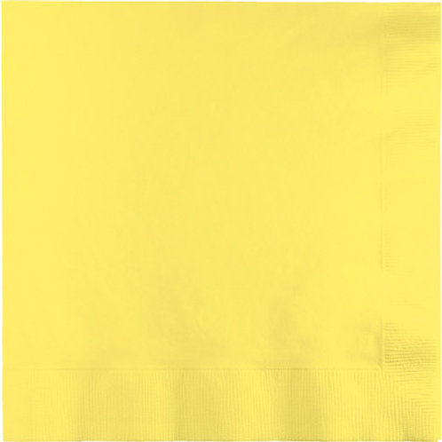 Creative Converting 600 Count Touch of Color Beverage Paper Napkins,Mimosa