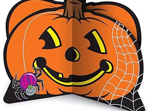 "Club Pack of 12 Jolly Jack-O-Lantern Centerpiece Halloween Decorations 9"""
